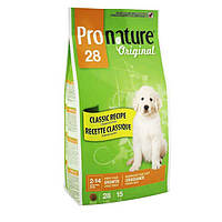 Pronature Original LARGE Puppy 15 кг - корм для щенков крупных пород (курица/рис)