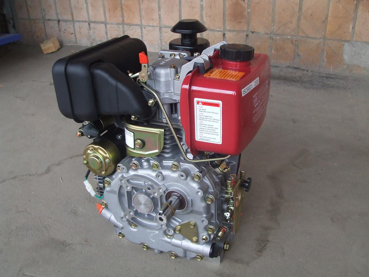 Двигатель дизельный с электростартером WEIMA(Вейма) WM178FES (под шпонку,6 л.с., с редуктором 1/2) к мотоблоку