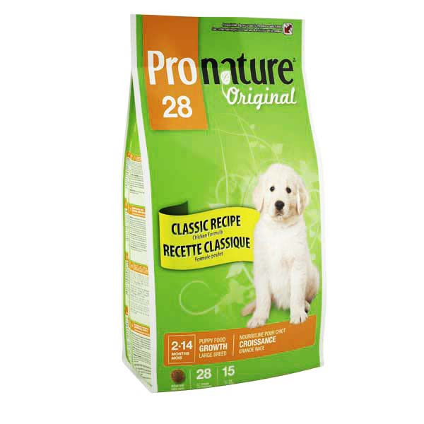 Pronature Original LARGE Puppy 7 кг - корм для щенков крупных пород (курица/рис)