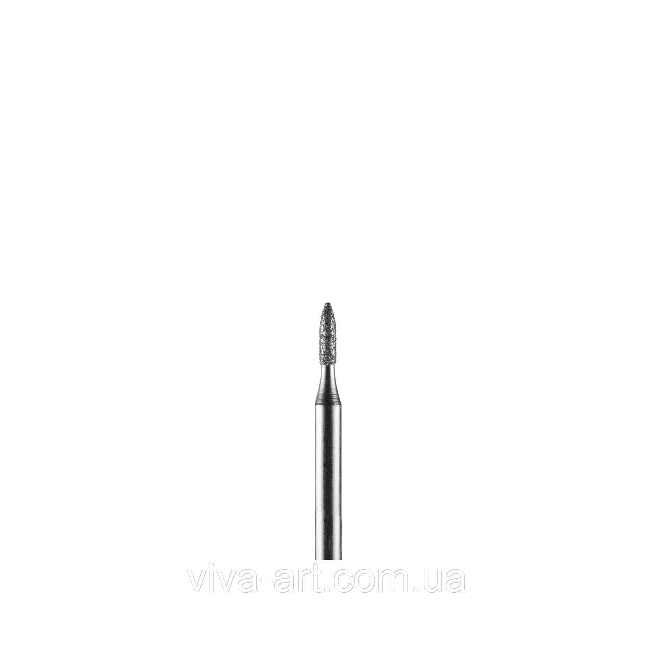 Алмазна насадка піку малий., 1.4 мм, середній абразив, Diaswiss (Швейцарія)
