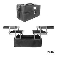 Профессиональный сумка для мастеров маникюра и визажа BPT-02 _LeD