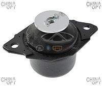 Подушка двигателя задняя левая (480EF, опора КПП) Chery Amulet [1.6,-2010г.] A11-1001110BA Dello [Германия]