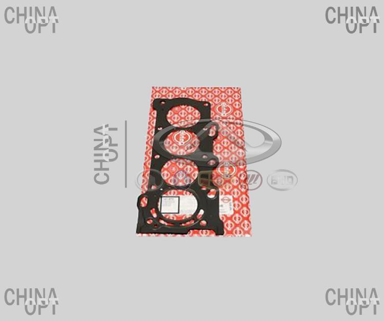 Прокладка ГБЦ, 4G18, 4G15E, металлическая, Geely Emgrand EX7[1.8,X7], 1136000058, ElringKlinger