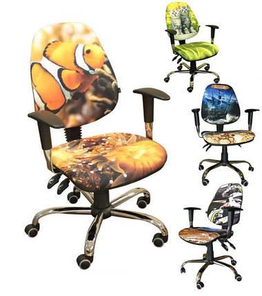 Кресло Бридж Хром Дизайн Дисней Пираты карибского моря Джек Воробей, фото 2