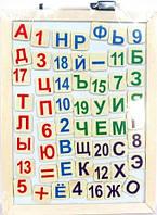 Доска магнитная для обучения счету и чтению