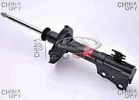 Амортизатор передний, левый / правый, шток D=14mm, газомасляный, Geely MK2 [1.5, с 2010г.], 1014001708, Kayaba