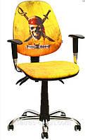 Кресло Бридж Хром Дизайн Дисней Пираты карибского моря Веселый Роджер