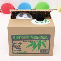 Игрушка-копилка Панда в коробке интерактивная