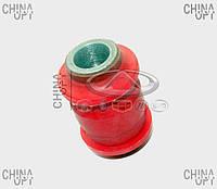 Сайлентблок заднего поперечного рычага, нижнего, внутренний (полиуретановый) Chery Tiggo [2.4, -2010г.,AT] T11-291903040RP VTR [Финляндия]