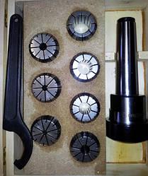 Цанговый патрон Mk3 + комплект цанг (8 шт.)