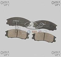 Колодки тормозные передние, ZX Land Mark, Abe