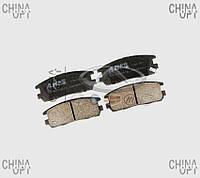 Колодки тормозные задние, дисковые (Н2) Great Wall Pegasus [2.2] 3502177-K00 ABE [Польша]