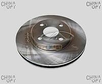 Диск тормозной передний, BYD F3R [1.5,HB], Abe