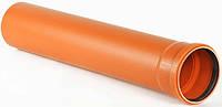 Труба канализационная ПВХ 110/2,2/1000мм