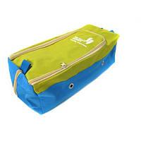Органайзер сумка для обуви 311412см J01413 Green, фото 1