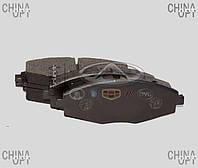 Колодки тормозные передние Chery QQ [S11, 1.1] S11-3501080 POLBRAKE [Польша]