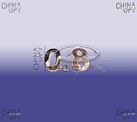 """Эмблема """"0.8"""" (надпись) Chery QQ [0.8, S11] S11-3903023BE Китай [оригинал]"""