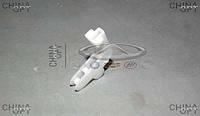 Фиксатор замка двери задней левой (пластик) Chery Amulet [-2012г.,1.5] A11-6205235 Китай [оригинал]