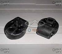 Резинка глушителя (два отверстия) Chery Tiggo [2.4, -2010г.,MT] T11-1203271 Китай [оригинал]