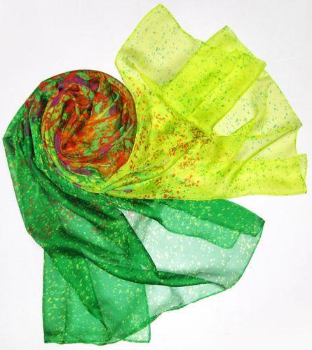 Женский легкий шарф-парео 180 на 100 dress VM378_3 разноцветный