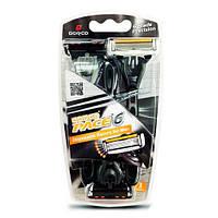 Dorco Pace 6 Disposables (SXA200 3B) Одноразовые бритвы 3 шт