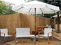 Зонт деревянный «Де-Люкс» для улицы, пляжа, летнего кафе, летней площадки или бара