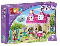 """Детский конструктор """"Модный дом"""" 5229 JDLT для девочек, 146 деталей"""