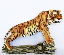 Садовая фигура Тигр цветной 50*72*30 см Гранд Презент СП307 цв