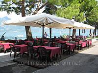 """Зонт уличный """"Генуя"""" квадратный 3,5х3,5м для кафе, бара, ресторана, летней площадки"""