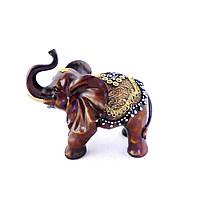 Фігурка слона з прикрасами 20 см H2624-3D