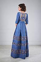 Вечірня сукня з вишивкою, фото 1