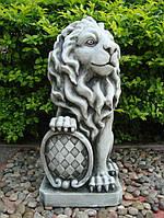 Садовая  скульптура Лев 35.5×28.5×62.5cm SS12149