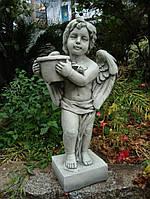 Садовая  статуя Ангел с цветочным горшком 30x23x61cm SS12137