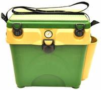 Ящик для зимней рыбалки A-elita с градусником
