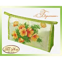 Набор для вышивания бисером Tela Artis Букетик К-003