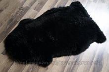 Шкура новозеландской овчина мериноса черного цвета