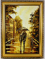 Пейзаж Пара под зонтом П-708 Гранд Презент 30*40