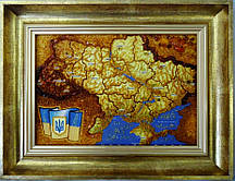 Карта Украины сложная Г-66 Гранд Презент 20*30