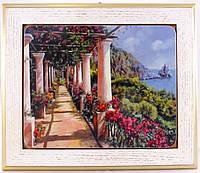 """IT15/11w Картина """" Італійський дворик"""