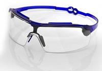 Очки прозрачные поворотные (удлиненные дужки, поликарбонат , антицарапина, не потеющее стекло)