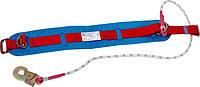 Пояс монтажный предохранительный ПП1-В, безлямочный (со стропом – капроновый канат)