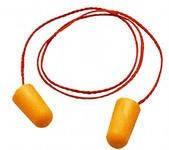 Противошумовые (беруши) вкладыши пенополиуритановые 3М 1110   (с тесьмой)