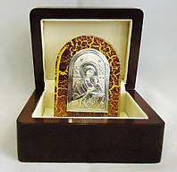 Икона Страстная в деревянной шкатулке