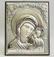 Икона Казанская  на деревянной основе в шкатулке