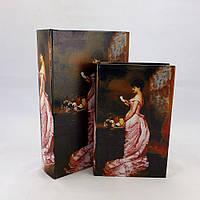 Скринька 2х - Леді в рожевому Гранд Презент 33-KSH-SC387