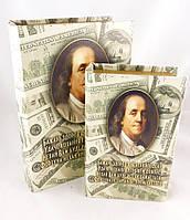 Шкатулка 2х- Доллары