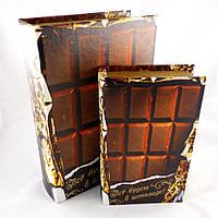 Шкатулка 2х- Шоколадки Гранд Презент 27-KSH-XZ-PUXR101