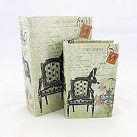 Набор из 2-х шкатулок – Кресло