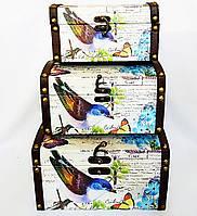 Сундук малый набор из 3-х – Птица