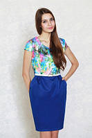 Платье - футляр Цветочный Рай